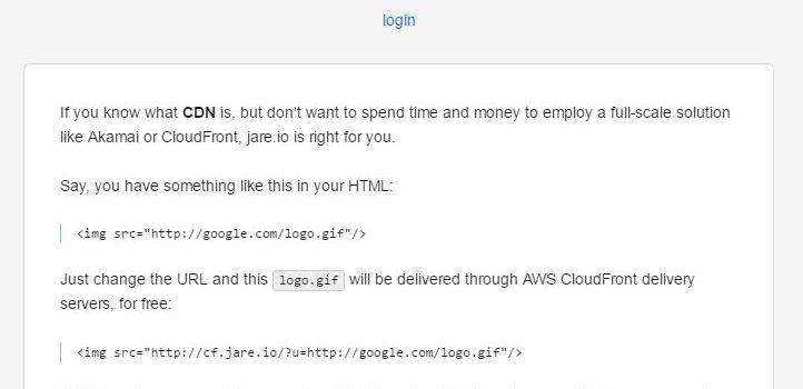 免费JareCDN介绍-提供AWS CloudFront节点